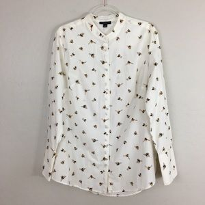 🐝 Victoria Beckham for Target Bee Button Down